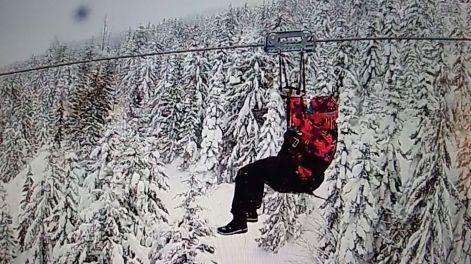 Ziplining in Whistler, Canada